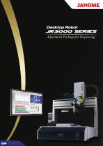 JR3000AP-D Series Dispensing with Camera Desktop Robot