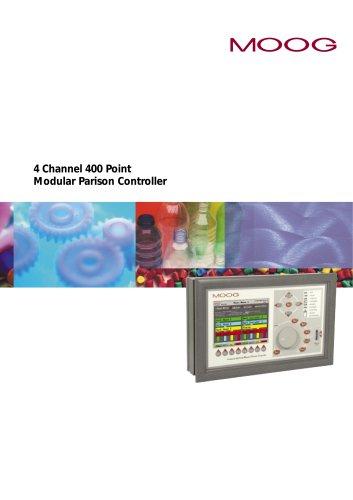 4 Channel 400 Point Modular Parison Controller