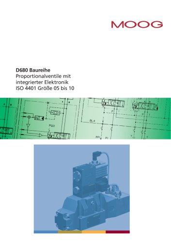 D680 Baureihe Proportionalventile mit integrierter Elektronik
