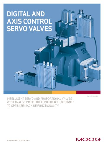 Digital and Axis Control Servo Valves