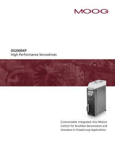 DS2000XP High Performance Servodrives