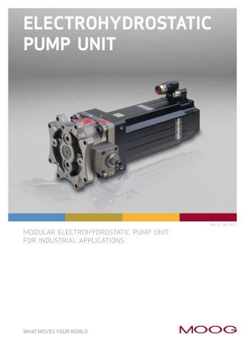 Electrohydrostatic Pump Unit