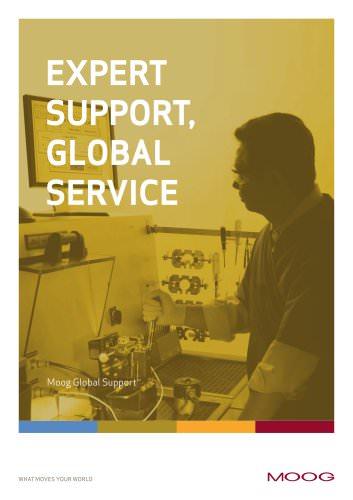 Expert Support, Global Service, Moog Global Support