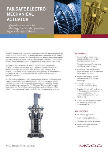 Falsafe Electro Mechanical Actuator