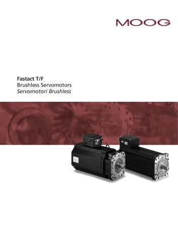 Fastact T/F Brushless Servomotors Servomotori Brushless