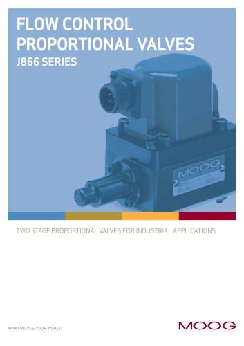 FLOW CONTROL PROPORTIONALVALVES J866 SERIES