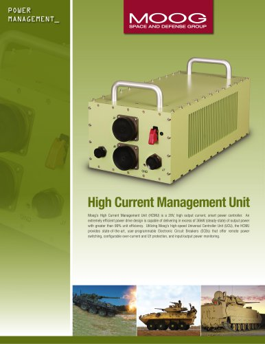 High Current Management Unit (HCMU)