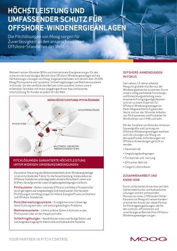 Höchstleistung und Umfassender Schutz für Offshore-Windenergieanlagen