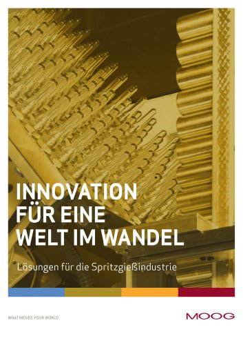 Innvation für eine Welt im Wandel - Lösungen für die Spritzgießindustri