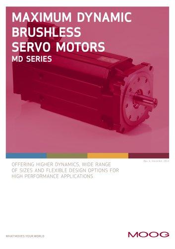 Maximum Dynamic Brushless Servo Motors - MD Series