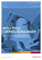 Moog Pitch Control Schulungen