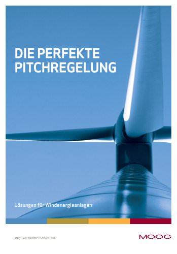 Die Perfekte Pitchregelung - Lösungen für Windenegieanlagen