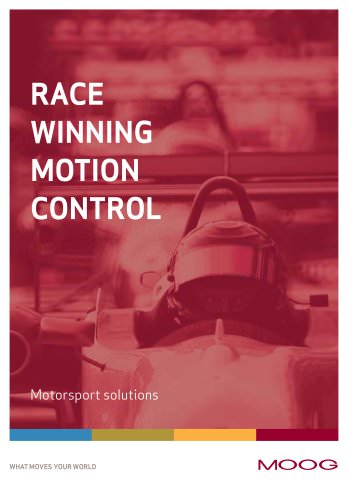 Race Winning Motion Control - Motorsport solutions