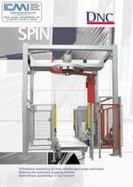 WRAPPING MACHINES LEAFLETS: Fully Automatic SPIN