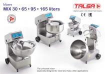 Mixers MIX 30 • 65 • 95 • 165 liters