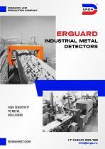 ERGUARD Industrial metal detectors