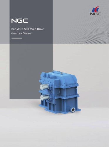 NGC - China Transmission Bar-Wire Mill Main Drive Gearbox Series
