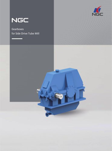 NGC - China Transmission Gearboxes for Side Drive Tube Mill