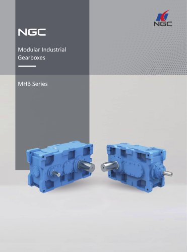 NGC - China Transmission MHB Series Standard Industrial Gearbox