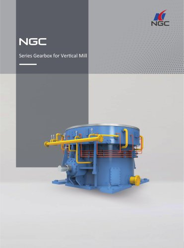 NGC - China Transmission Series_Gearbox_for_Vertical_Mill