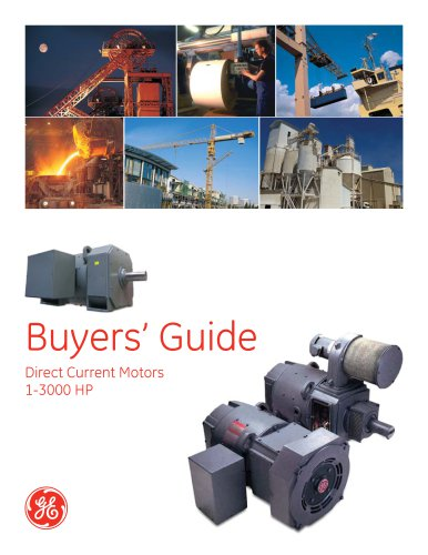 DC Buyer's Guide fact sheet