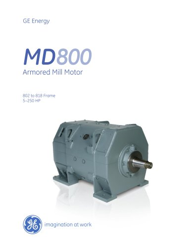MD800 Armored Mill Motor