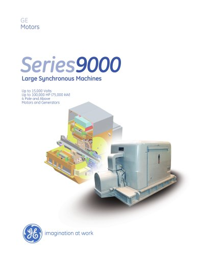 Series 9000 Large Synchronous Machines