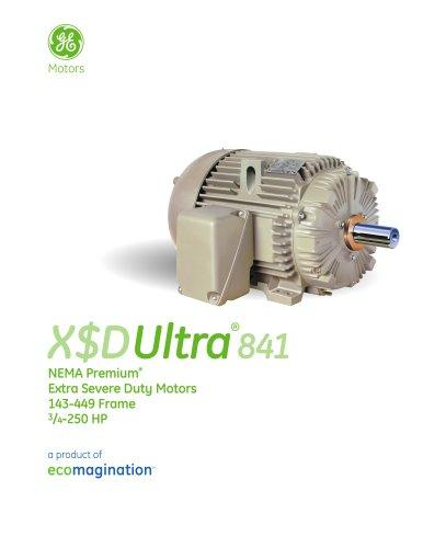 X$D Ultra841 - NEMA Premium Extra Severe Duty Motors
