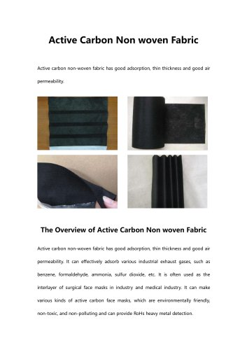 active-carbon-non-woven-fabric