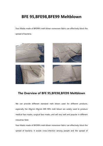 bfe-95-bfe98-bfeE99-meltblown