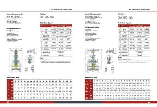 CAST STEEL Wedge Gate Valve ANSI 16.5 API 608/509 150#-300# ASTM MATERIAL A105 A182-KOSA VALVE