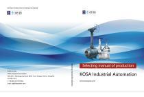 KOSA INDUSTRIAL VALVES Catalog