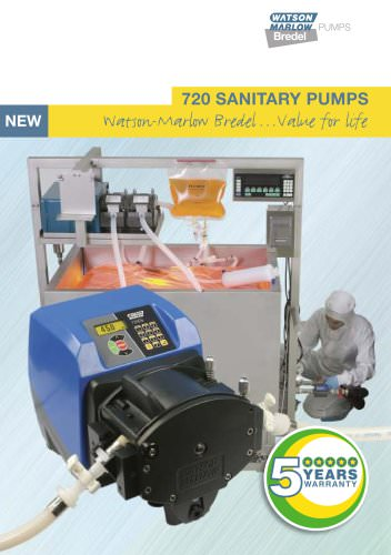 720 SANITARY PUMPS