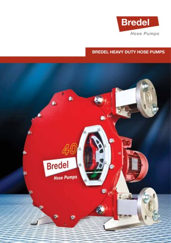 Bredel heavy duty pumps