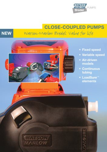 Close-coupled pumps brochure