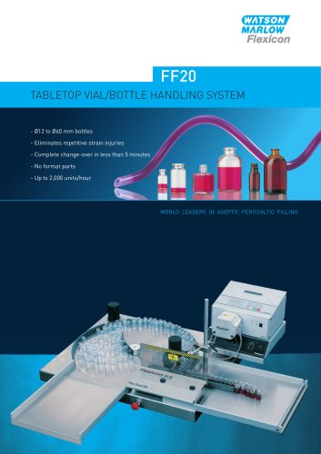 Flexicon FF20 vial/bottle handling system