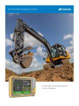 3D Automatic Excavator Control
