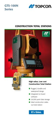 Construction Total Station (GTS-100N Series)