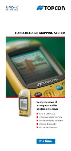 Hand-held GIS Mapping System (GMS-2/ PRO)