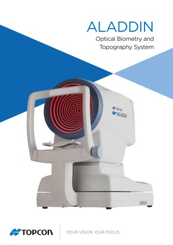 Optical Biometry and Topography System