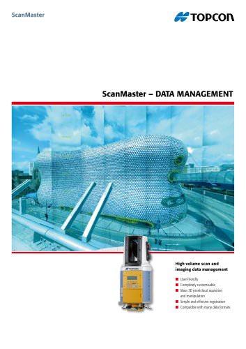 ScanMaster - Data Management