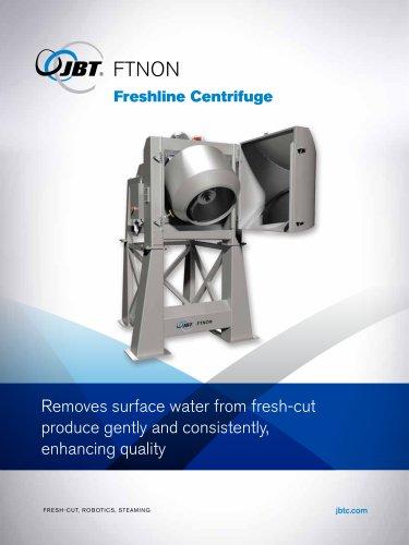 Freshline centrifuge