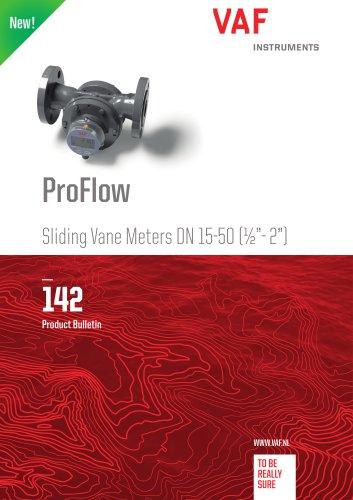 "ProFlow Sliding Vane Meters DN 15-50 (½""- 2"")"