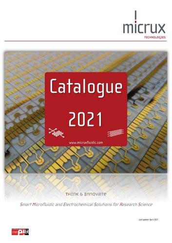 CATALOGUE MICRUX 2021