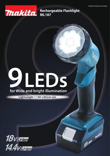 Rechargeable Flashlight ML187