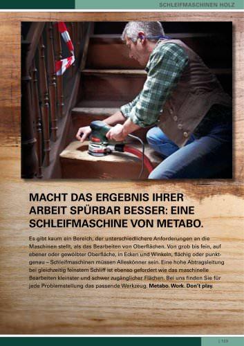 Schleifmaschinen Holz, Fräsen und Hobel, Sägen, Spezialmaschinen, Ordnung mit System