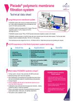 ALSYS-EN0072-Polymeric membrane filtration systems