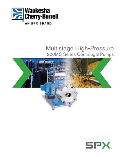FH-1703 Multistage High-Pressure Centrifugal Pump