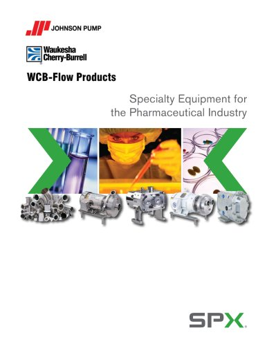 Specialty Equipment for the Pharmaceutical Industry