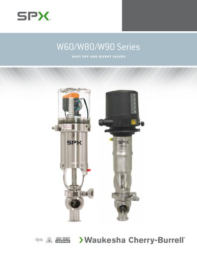 W60 Series Shut-off & Divert Valves